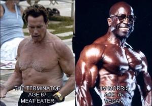 svaly meateater vs vegan